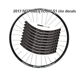 2017 stan's notubes flow s1 Wheel Sticker for Mountain Bike MTB Bicycle Decals