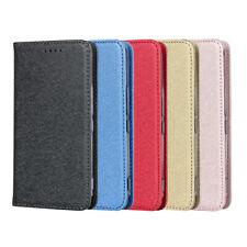For Hot Selling kyocera KYV43 Silk Pattern Lanyard Leather Phone Case