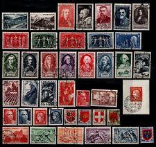 L'ANNÉE 1949 complète, Oblitérés = Cote 130 € / Lot Timbres France