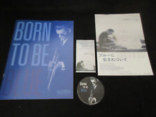 Born to Be Blue Japan Film Program Book with Ticket Flyer Chet Baker Ethan Hawke