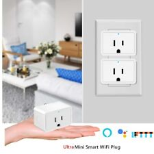 1x Nexete Smart Wifi Mini Plug Outlet Swtich Work With Alexa/Google Home /IFTTT