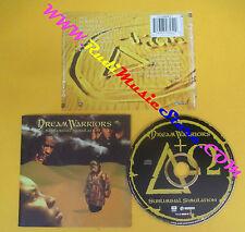 CD DREAM WARRIORS Subliminal Simulation 1994 Canada EMI MUSIC no lp mc dvd (CS9)