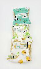 Langsprit Washable Male Dog Diapers 3 Pack - No Leak Reusable Washable Size XXS