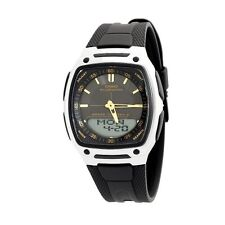 Casio Men's World Time Databank Illuminater Watch AW81-1A2V
