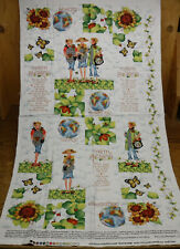 """Sisterhood of Quilters Fabric Panel """"Earth Blessings"""" #6760 for Quilt projects"""