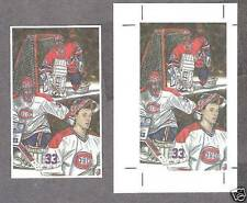 "1992 ""John"" Art Print, Patrick Roy, Promo Card & Proof"