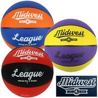 Midwest League Basketball Ball Sizes 3 5 6 & 7 ✅ FREE UK SHIPPING ✅