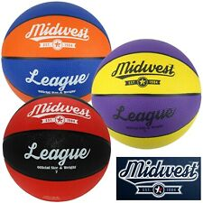 New Midwest League Basketball Ball Sizes 3 5 6 & 7 ✅ FREE UK SHIPPING ✅