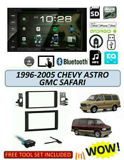 1996-05 Chevrolet Astro GMC Safari STEREO KIT, BLUETOOTH TOUCHSCREEN