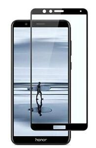 Huawei Honor 7X - Film Toughened Glass Screen Protector (Black)