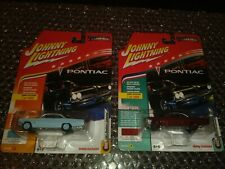 Johnny Lighting Muscle Cars 1961 Pontiac Catalina in two different colors A/B.