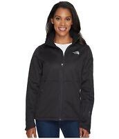 New Women's The North Face Apex Risor Coat Top Windwall Jacket Black