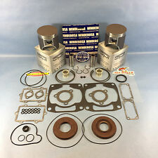 NEW ARCTIC CAT 900 SPI PISTONS COMPLETE GASKET KIT 2003-2006 ZR900 KING KAT
