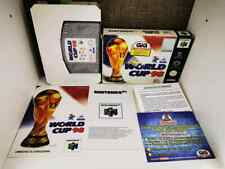World Cup 98  NINTENDO 64 N64 PAL GIG BOXED