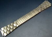 Vintage NOS Duchess Stainless Steel Mens Watch Expansion Bracelet Band 18mm 17.5