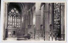 D8998cgt UK Durham Cathedral High altar vintage postcard