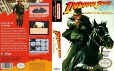 INDIANA JONES AND LAST CRUSADE NES NINTENDO GAME