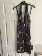 Ladies Purple Dress, Size M/L, New