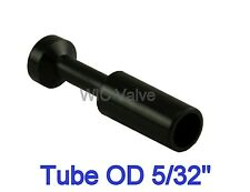 """10 pcs Plug Connector Tube OD 5/32"""" Push In Air Fitting Plug In Tube Fitting"""