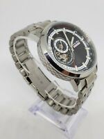 Detroit Mint Grand Touring Seiko Automatic Racing Watch with Stainless Band
