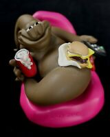 The Turds 'Lazy Sh*t' Figurine Boxed w/ Log Book Funny Statue Collectable