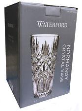"Genuine Waterford Normandy Crystal Vase 6.3"" W x 10"" H NEW"