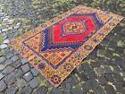 Bohemian rug, Area rug, Turkish rug, Vintage rug, Handmade rug | 3,6 x 6,8 ft