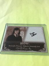 2009 Artbox Harry Potter MM Series 2 Autograph for Ryan Nelson