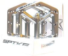 Spank Spike MTB Flat Pedals, Ti-Grey , Free Shipping