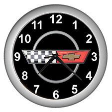 Classic Car Chevrolet Corvette C4 Wall Clock