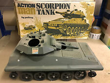 VINTAGE ACTION MAN -  SCORPION TANK - For Spares (Ref2)
