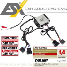 ESX QS-TWO-ISO digitaler Mini 2-Kanal Auto Verstärker plug&play ISO-ISO 380 Watt