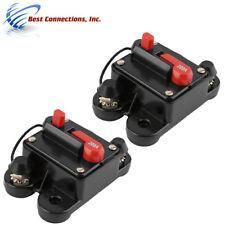2 Pcs In-line Circuit Breaker 200 Amp 12 Volt - 24 Volt Marine Car Audio Stereo