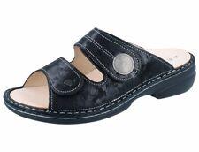 FINN COMFORT Sansibar Damen Pantolette schwarz nero/Chenile