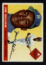1955 Topps #5 Jim Gilliam VGEX Dodgers A3007