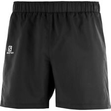 (c)salomon Mens Agile 5 inch Shorts Black (large)