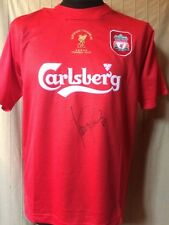 Liverpool European Champions Istanbul 2005 Shirt Signed Luis Garcia Guarantee