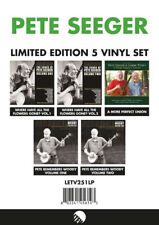 PETE SEEGER Limited Edition 5 Vinyl Set American Folk Rock Acoustic 10 x LP