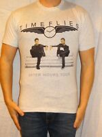 Time Flies After Hours 2014 Tour Cotton Light Gray Graphic Tee Men's Small