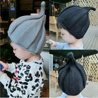 New Girls Boys Winter Children's Baby Kids Infant Knitted Cap Pointed Hat