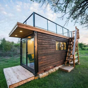 Prefabricated solar house for sale in 20ft prefabricated house