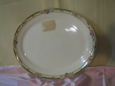"""VINTAGE TAYLOR SMITH TS&T 11"""" L x 9"""" W OVAL SERVING PLATE PLATTER"""