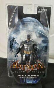 New Sealed DC Direct Batman Arkham Asylum Series 2 Armored Batman Figure 2011