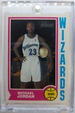2001 01-02 Topps Heritage Basketball Michael Jordan #264, Washington Wizards