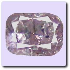 DIAMOND PINK PURPLE . 0.04 carats . I2 . Africa
