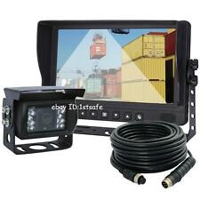 "VEISE 9"" Reversing Camera Cab Video System Kit for Skid Loader, Oversize Truck"