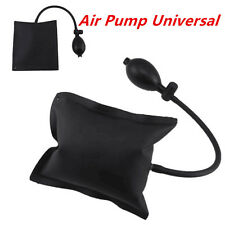 Black Air Pump Entry Tool Open Alignment Inflatable Shim Hand Tool For Car Door