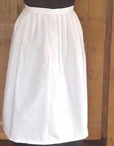 Victorian / Edwardian White Maids Apron Fancy Dress.Childs