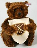 STEIFF LTD Bear Of The Lodge MOHAIR Very Rare TEDDY NEW Ideal Christmas 660795