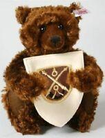 STEIFF LTD Bear Of The Lodge MOHAIR Very Rare TEDDY NEW Ideal Christmas 660795